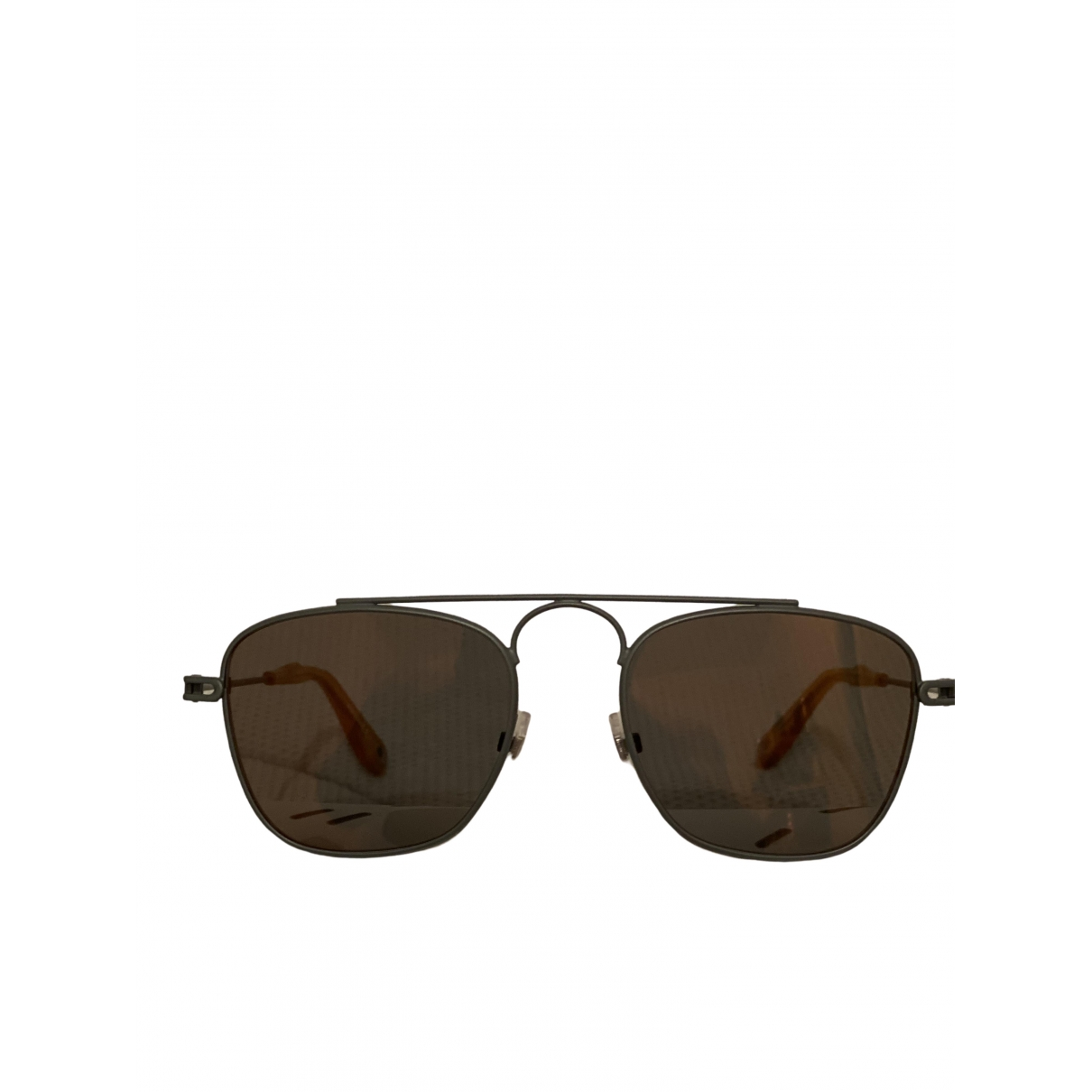 Givenchy \N Anthracite Metal Sunglasses for Men \N