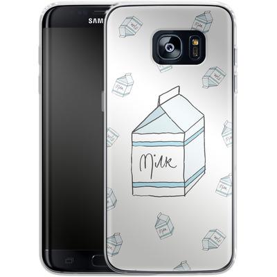 Samsung Galaxy S7 Edge Silikon Handyhuelle - Milk von caseable Designs