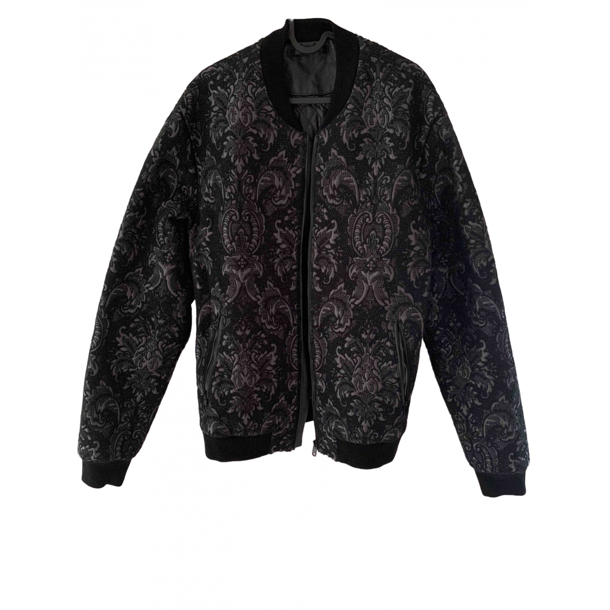 Dolce & Gabbana \N Jacke in  Schwarz Polyester