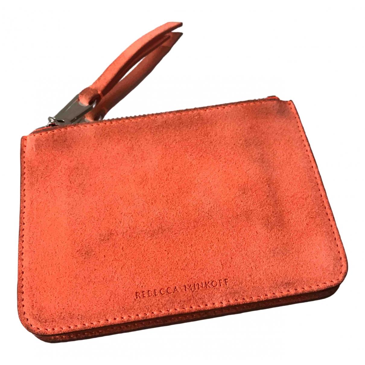 Rebecca Minkoff \N Orange Suede Purses, wallet & cases for Women \N