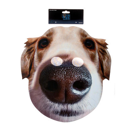 Bobble Hedz Giant Dog Head Mask for Halloween Party