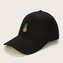 Men Pineapple Embroidery Baseball Cap