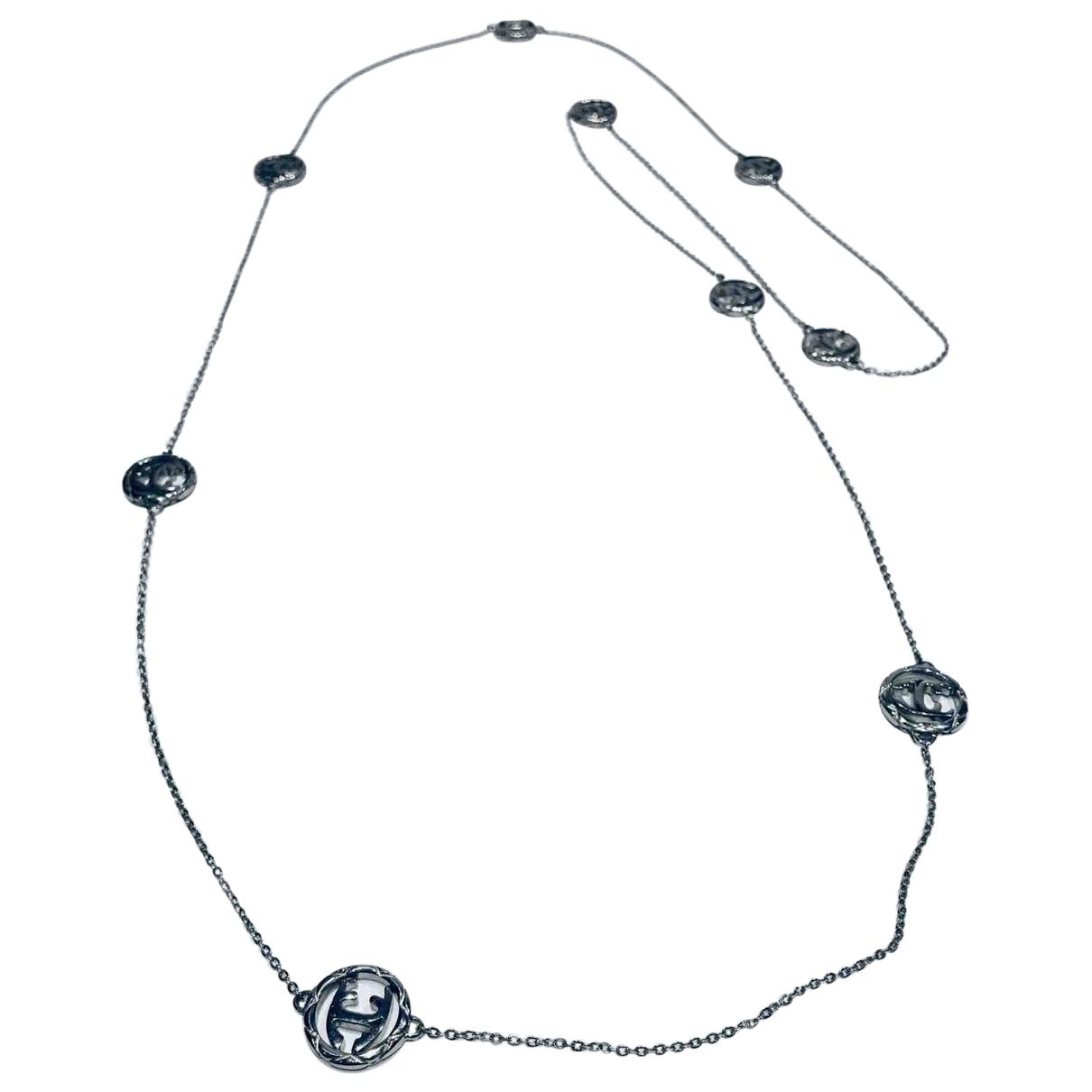 Just Cavalli \N Halskette in  Silber Stahl