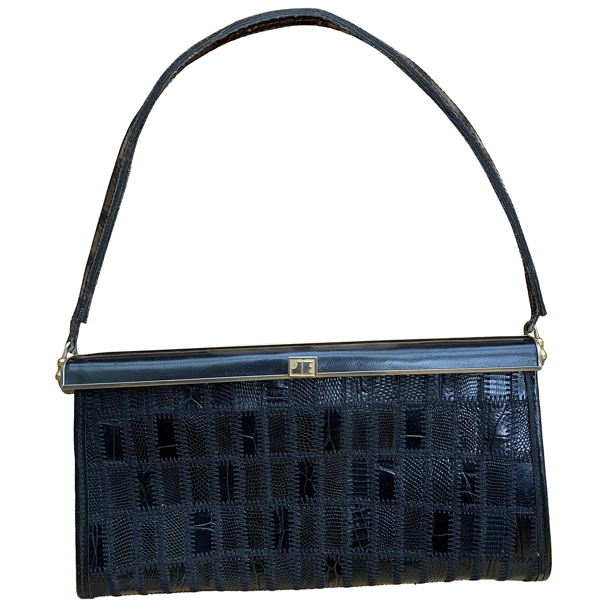Jacques Esterell \N Black Exotic leathers handbag for Women \N