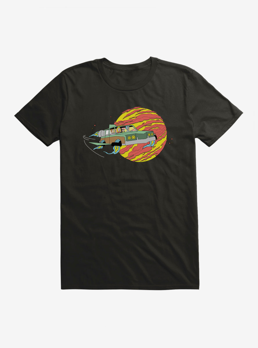 Rick And Morty Road Trip T-Shirt