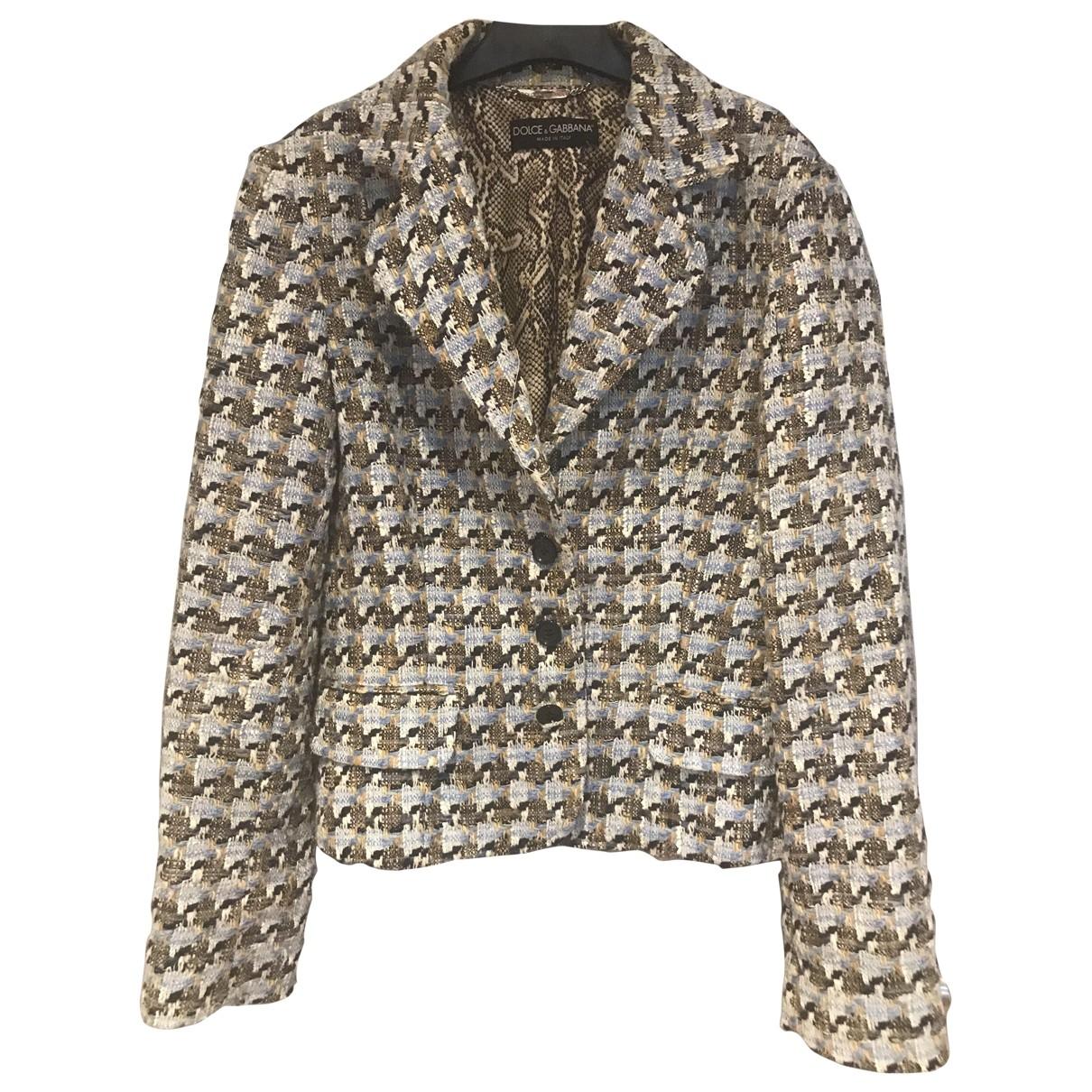 Dolce & Gabbana \N Jacke in  Bunt Baumwolle