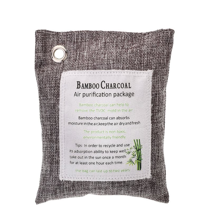 Activated Bamboo Charcoal Bags Air Purifying Bags Natural Air Purifier Freshener Neutralizer Filter Odor Remove Eliminator Deodorizer Moisture Absor f