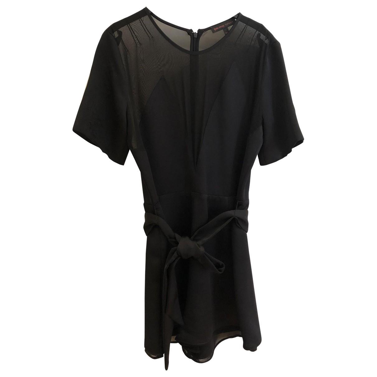 Tophop \N Jumpsuit in  Schwarz Polyester