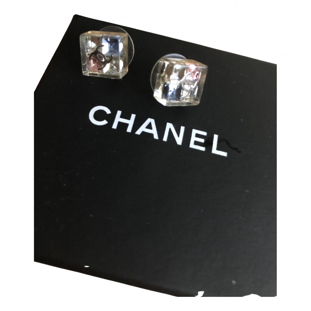 Chanel Matelasse OhrRing in Metall