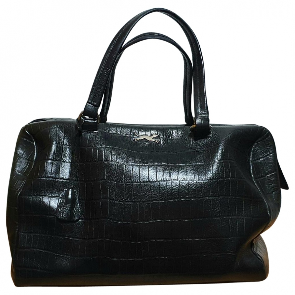 Bimba Y Lola \N Handtasche in  Schwarz Leder