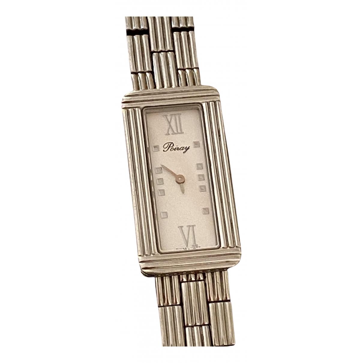 Poiray Ma Première Silver Steel watch for Women \N