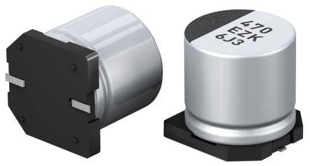 Panasonic 150μF Hybrid Capacitor 25V dc, Surface Mount - EEHZK1E151XP (5)
