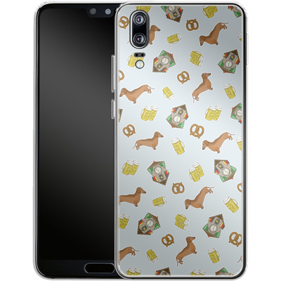 Huawei P20 Silikon Handyhuelle - Germany von caseable Designs