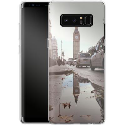 Samsung Galaxy Note 8 Silikon Handyhuelle - Double Ben von Ronya Galka