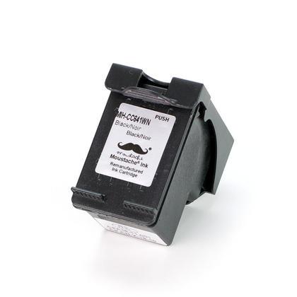 Remanufacturé HP 60XL CC641WN cartouche d'encre noire haute capacité - Moustache®