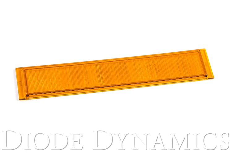 Diode Dynamics DD6026 Outer Lens for Stage Series Wide Amber