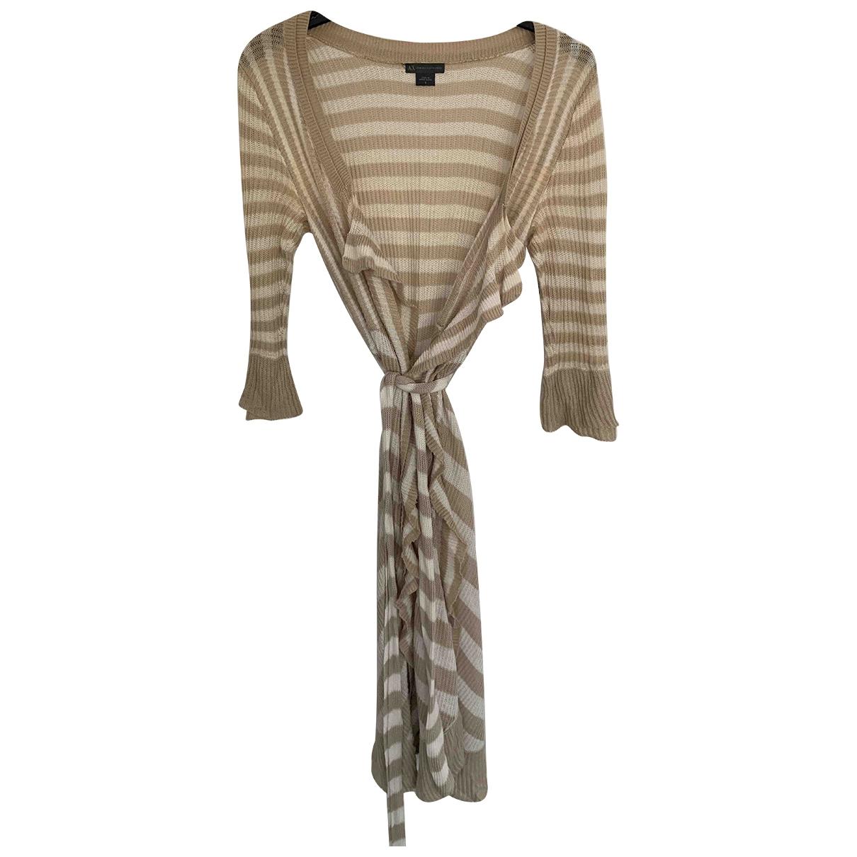 Emporio Armani \N Beige Cotton Knitwear for Women S International