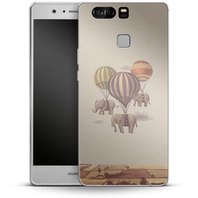 Huawei P9 Silikon Handyhuelle - Flight Of The Elephants von Terry Fan