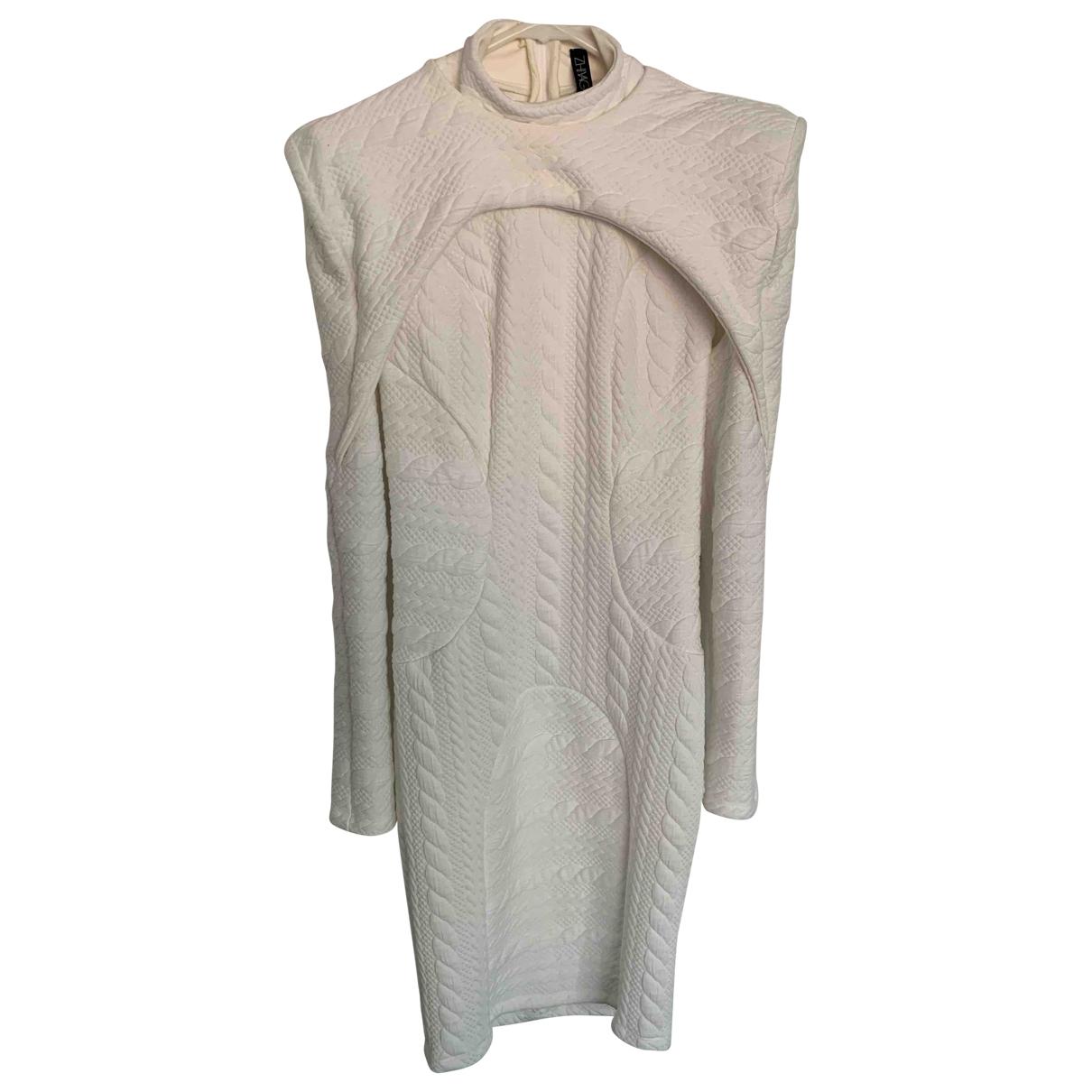 Zhivago \N Kleid in  Weiss Polyester