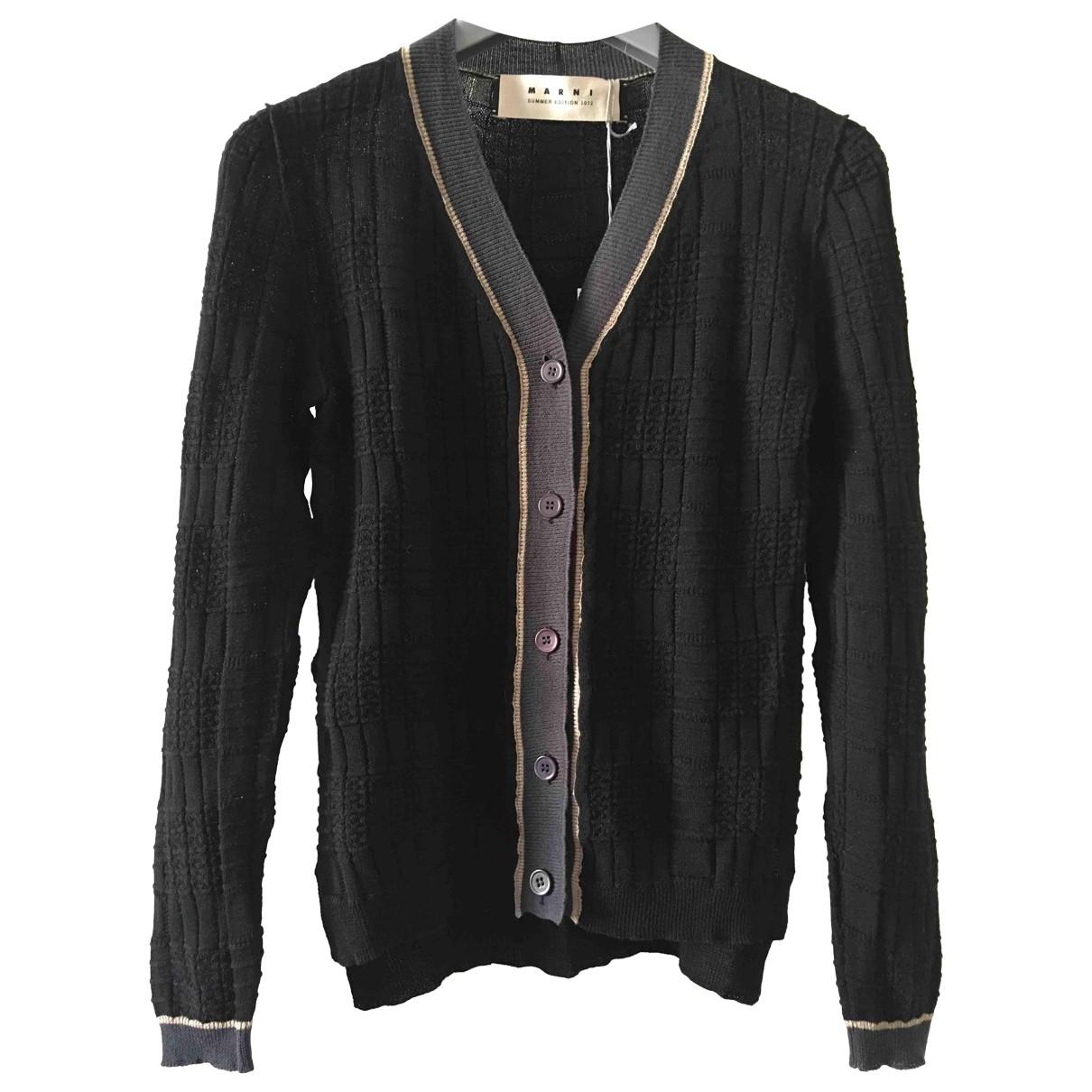 Marni \N Black Cotton Knitwear for Women 38 IT