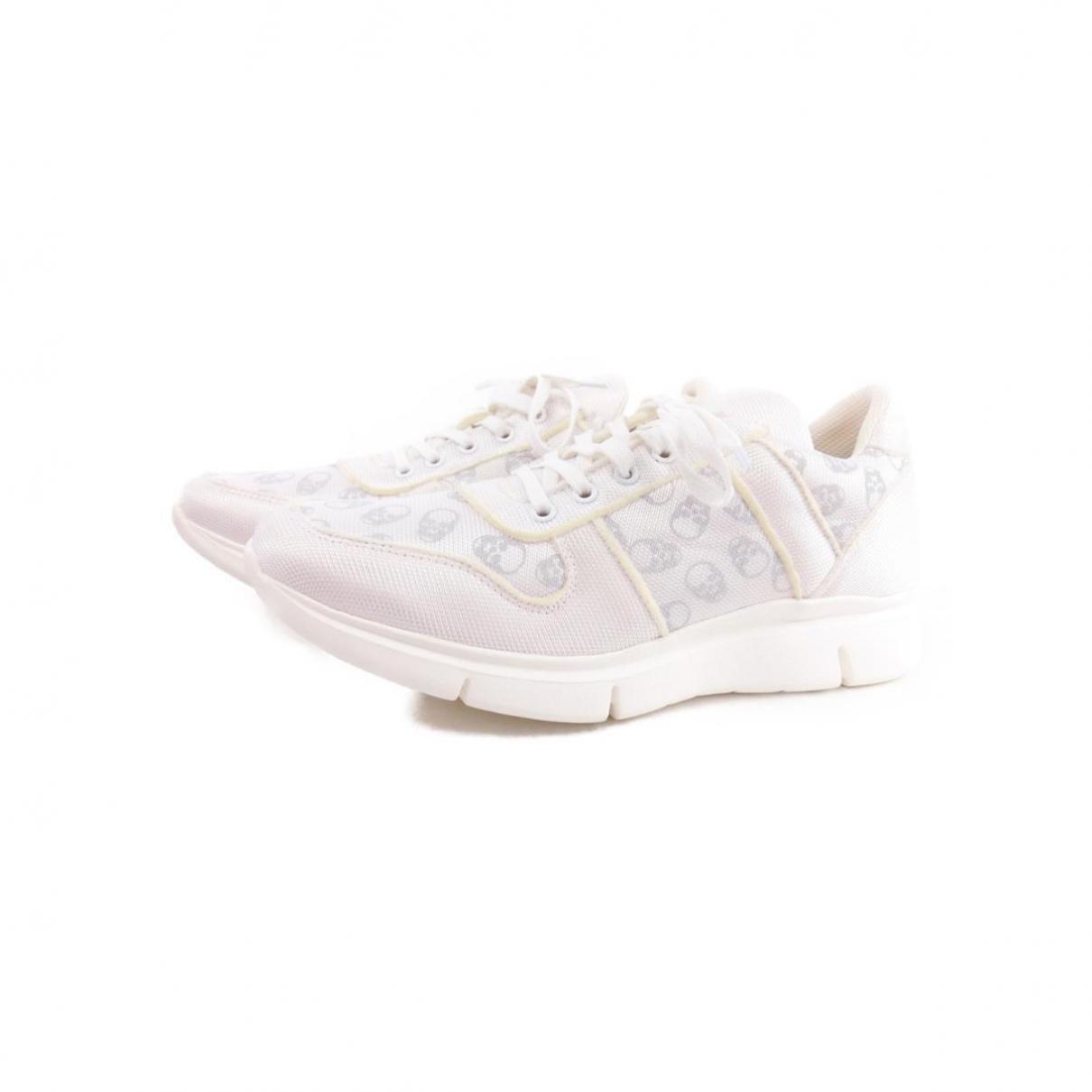 Lucien Pellat Finet \N Sneakers in  Weiss Leder