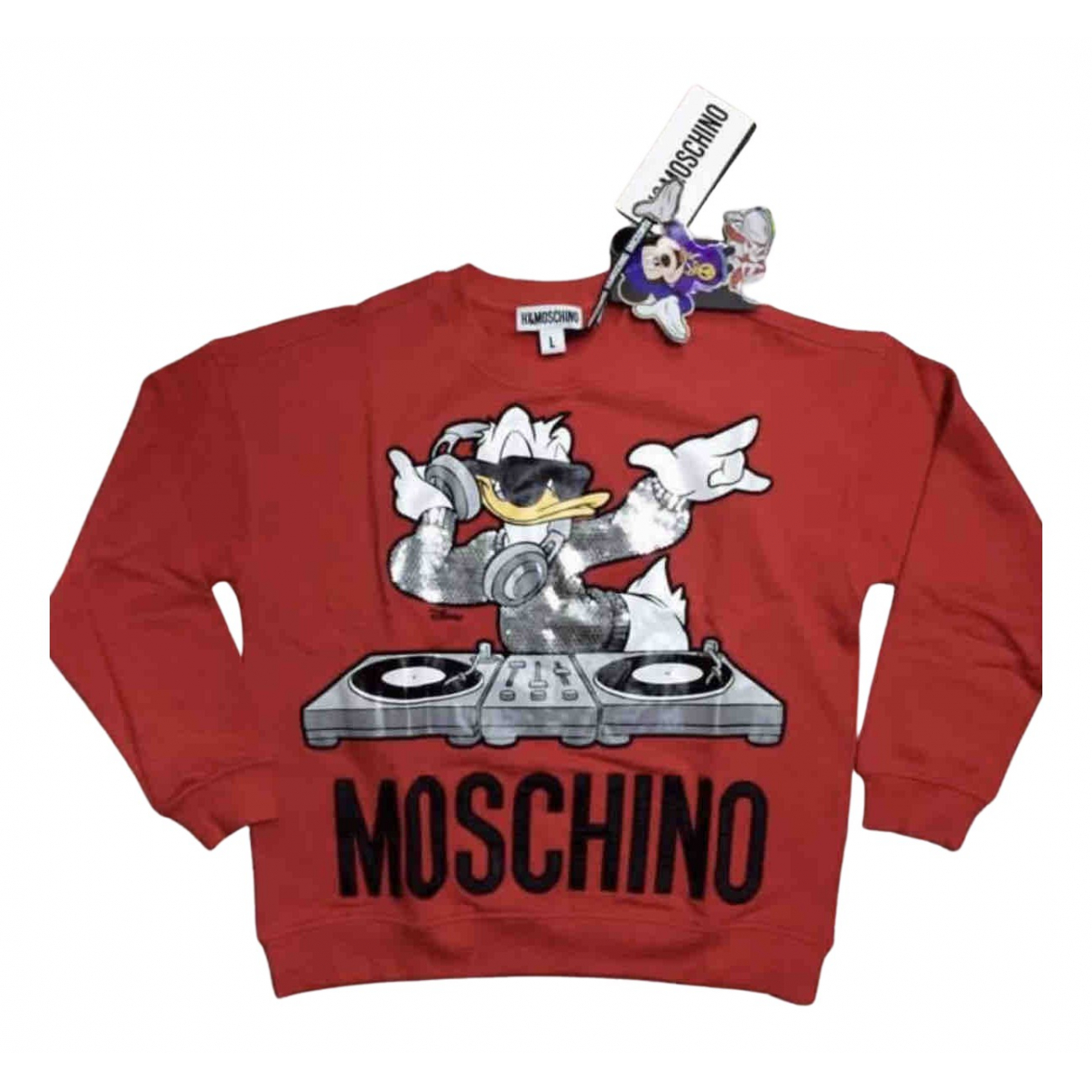 Moschino For H&m \N Red Cotton Knitwear for Women L International
