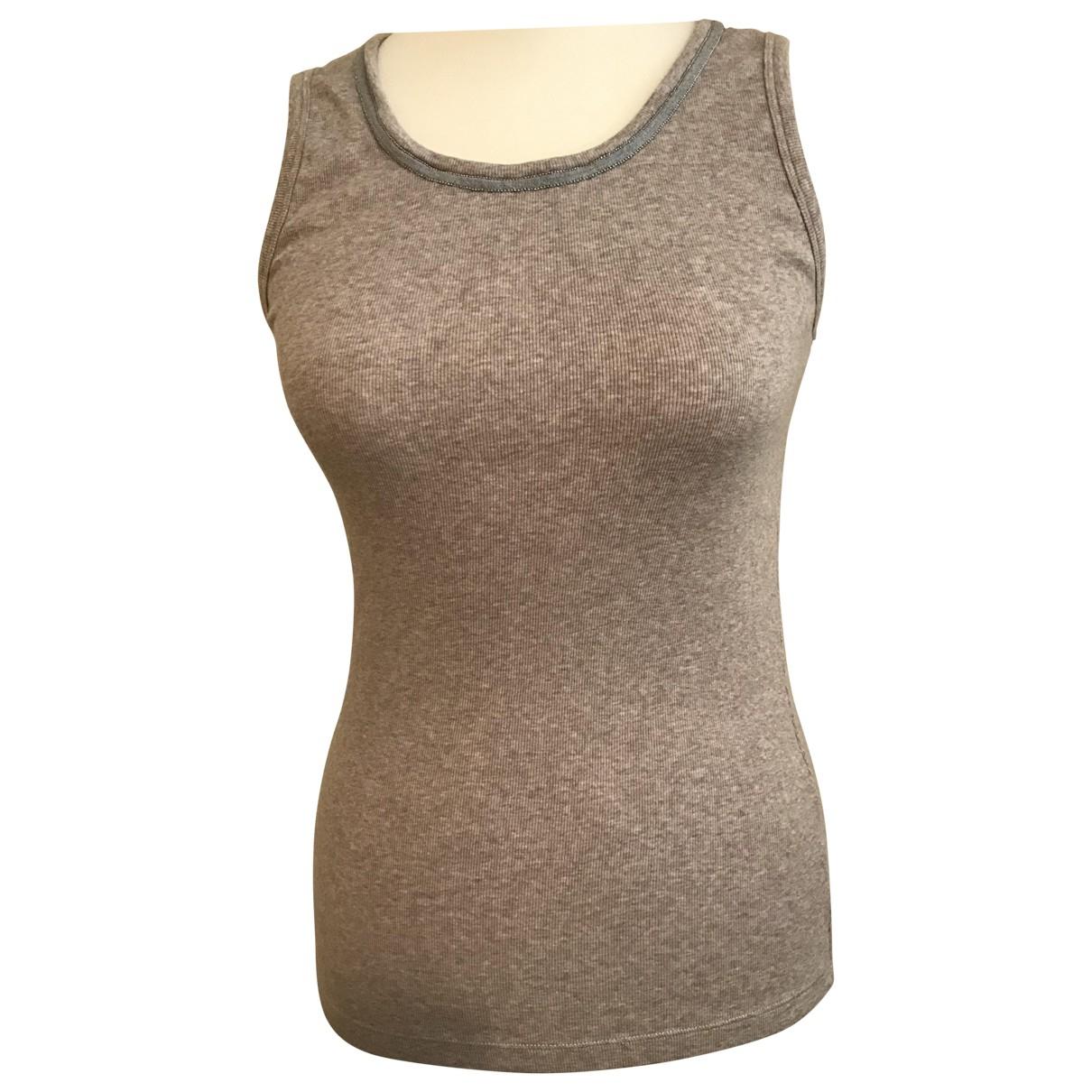 Fabiana Filippi \N Beige Cotton  top for Women 44 IT