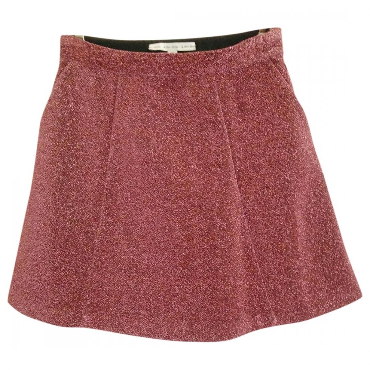 & Stories \N Pink Glitter skirt for Women M International