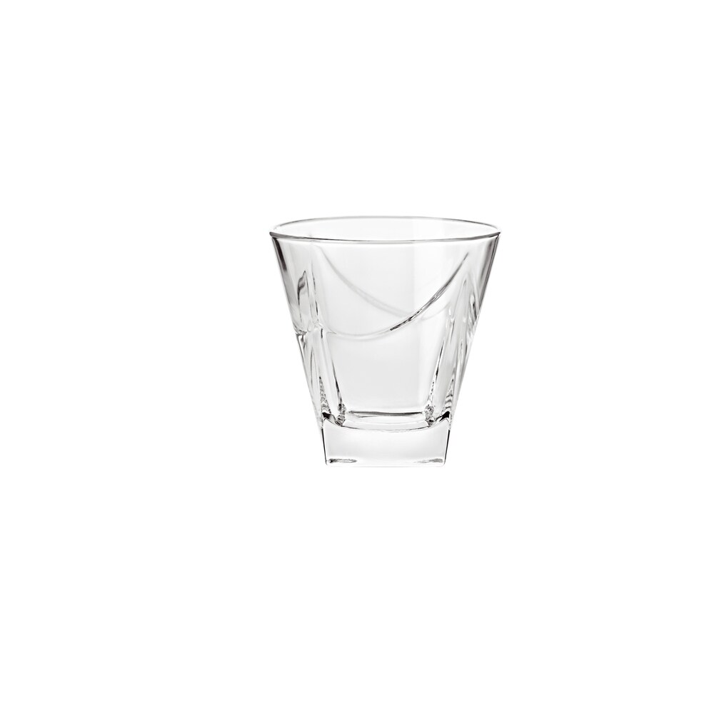 Majestic Gifts High Quality European Glass Double Old Fashioned Tumblers-11.5 oz- S/6