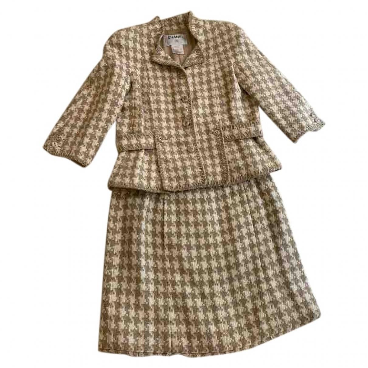 Chanel \N Beige Cotton jacket for Women 42 FR