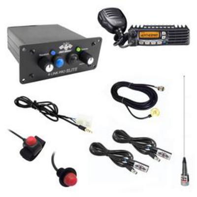 PCI Race Radios Builder 2 Seat Package with Bluetooth and DSP - 2479