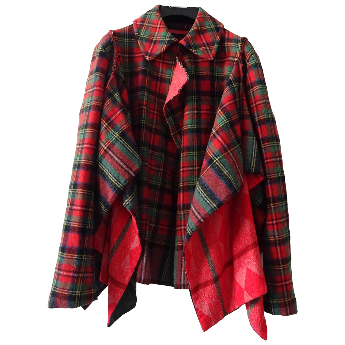 Comme Des Garcons \N Maentel in  Rot Wolle