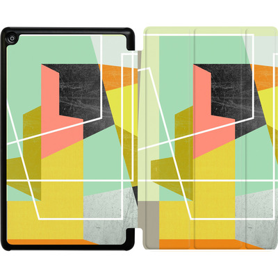 Amazon Fire HD 8 (2017) Tablet Smart Case - Color Block II von Susana Paz