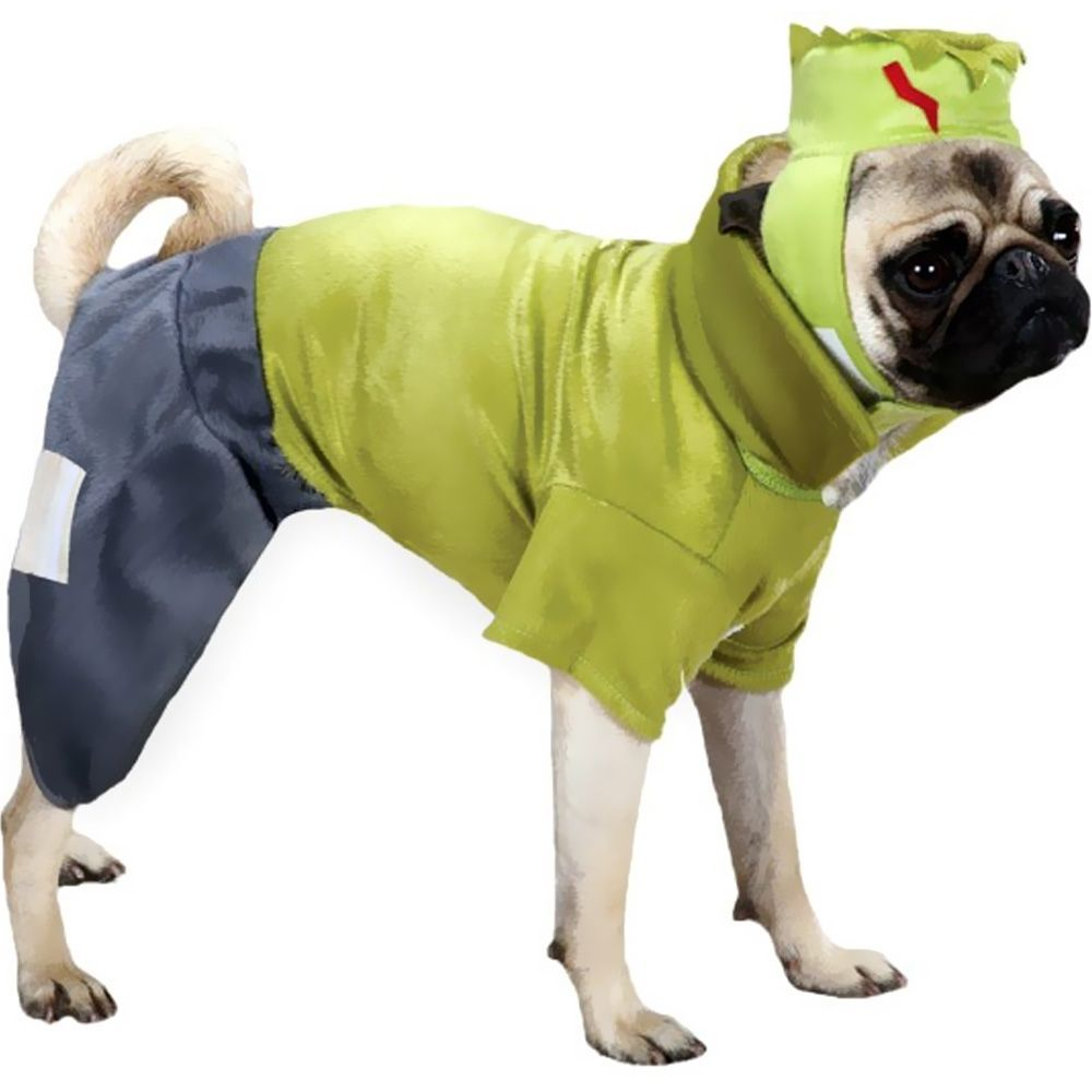 Frankenstein Dog Costume Green (Medium)