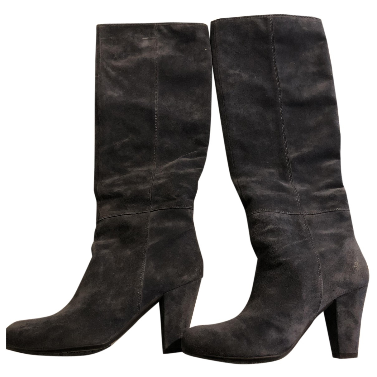 Janet & Janet N Blue Suede Boots for Women 37 IT