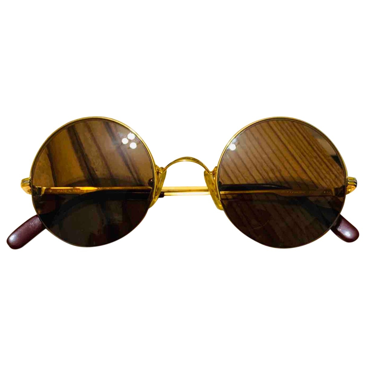 Cartier \N Gold Metal Sunglasses for Men \N