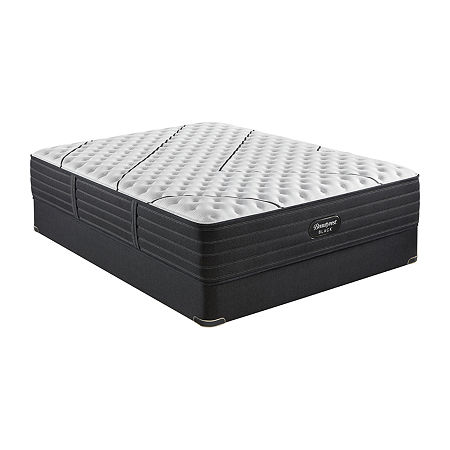 Beautyrest Black L-Class Extra Firm - Mattress + Box Spring, One Size , Black