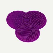 Limpiador de brocha de maquillaje pad de silicona