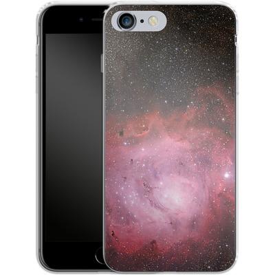 Apple iPhone 6 Plus Silikon Handyhuelle - Pink Nebula von caseable Designs