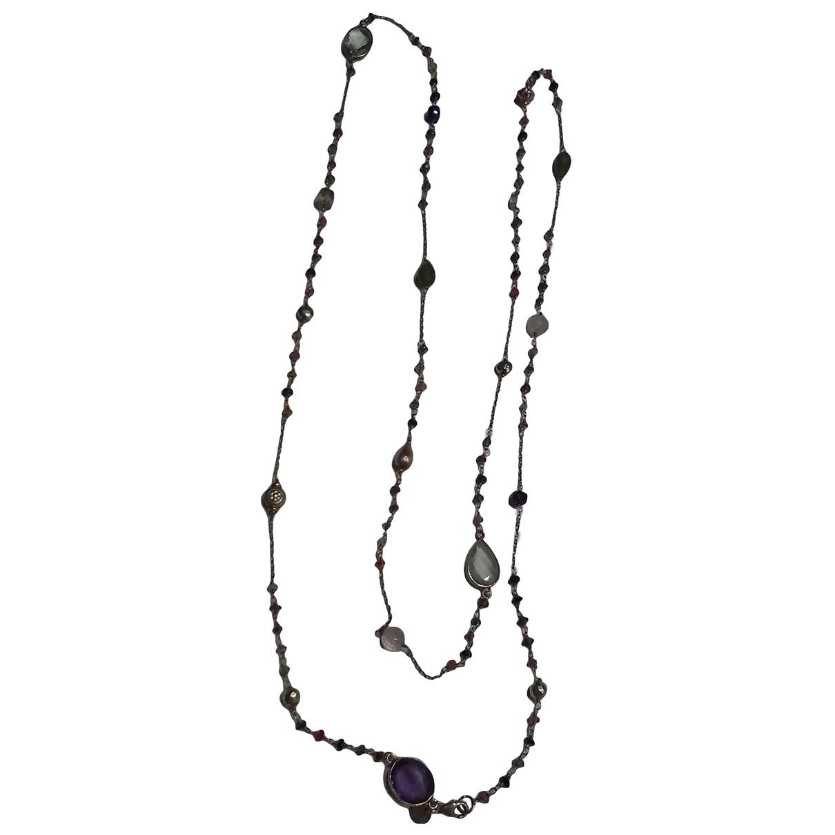 - Collier Motifs Ethniques pour femme en vermeil - multicolore