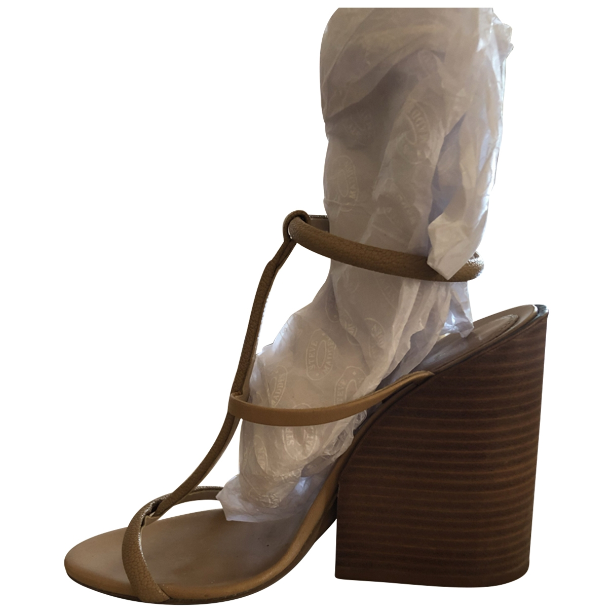 Chloé \N Beige Leather Sandals for Women 38 EU