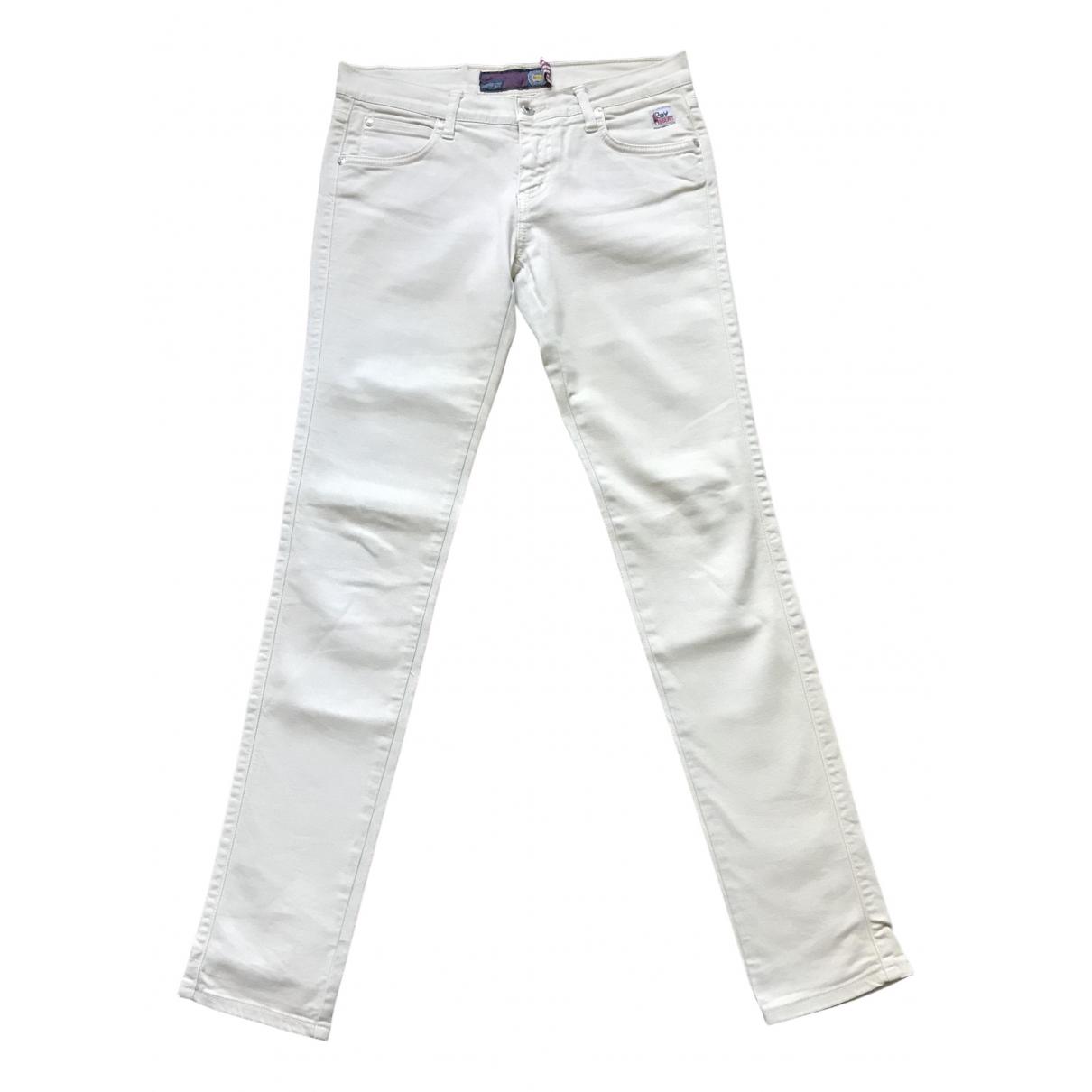 Pantalones en Algodon Beige Roy Rogers
