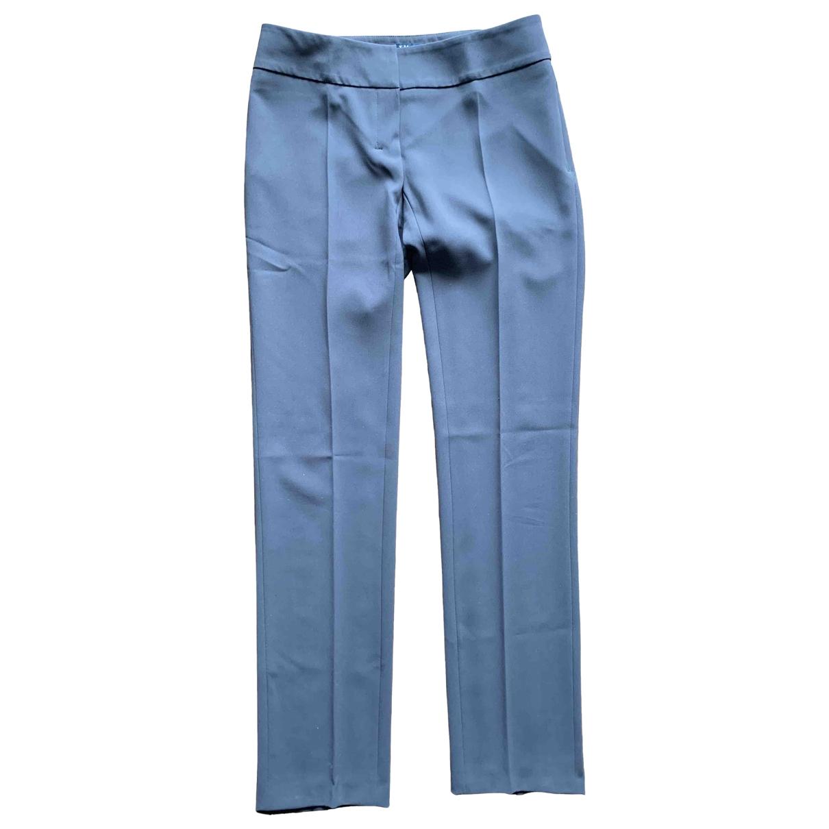 Max Mara 's \N Brown Trousers for Women 42 IT