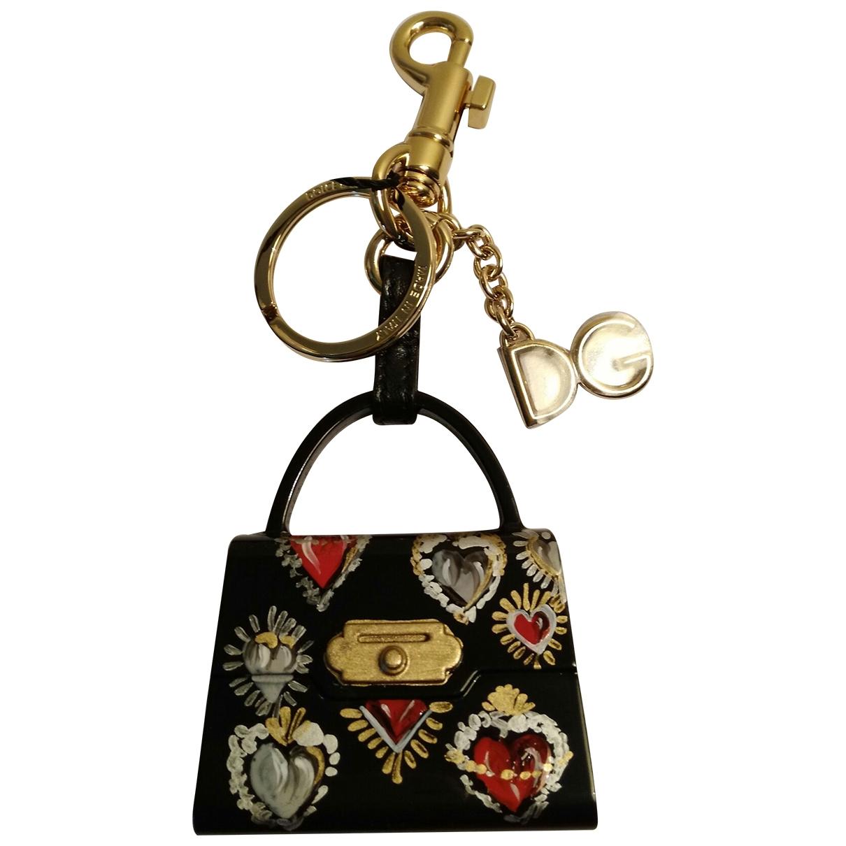 Dolce & Gabbana - Petite maroquinerie   pour femme en cuir - noir