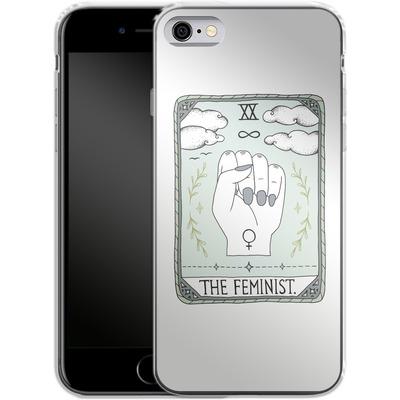 Apple iPhone 6 Silikon Handyhuelle - The Feminist von Barlena