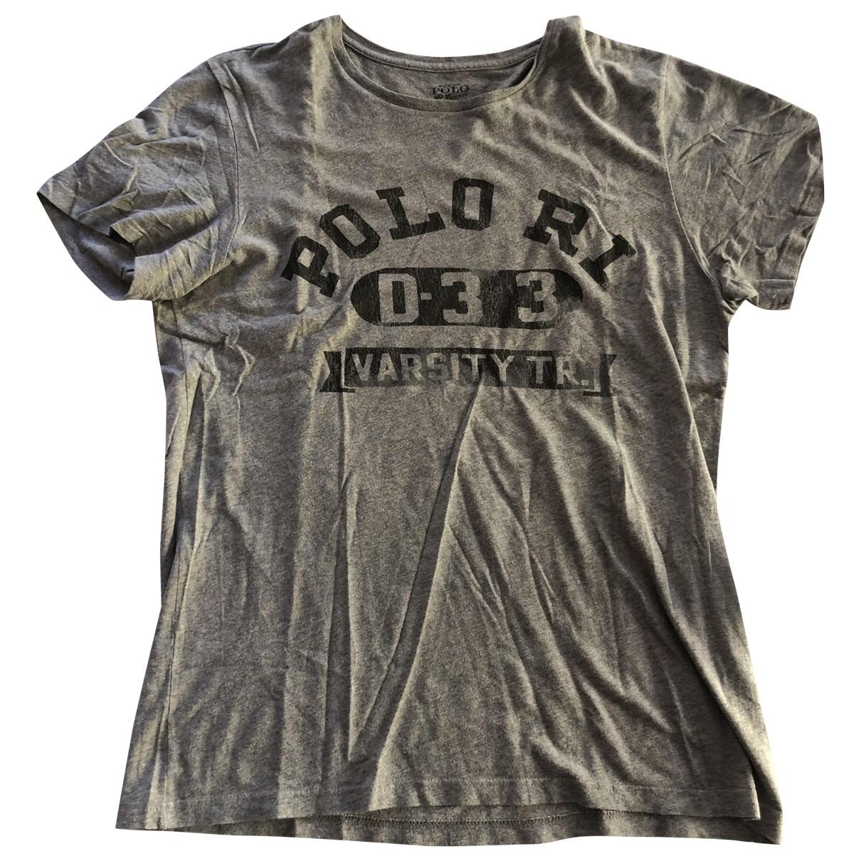 Polo Ralph Lauren \N T-Shirts in  Grau Baumwolle