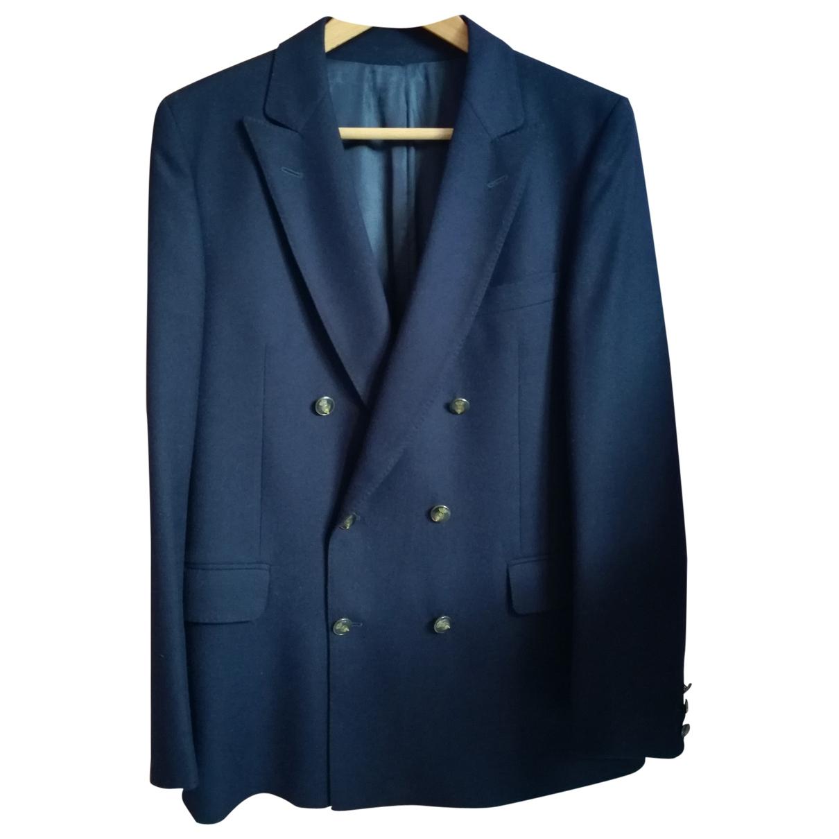 - Vestes.Blousons   pour homme en laine - bleu
