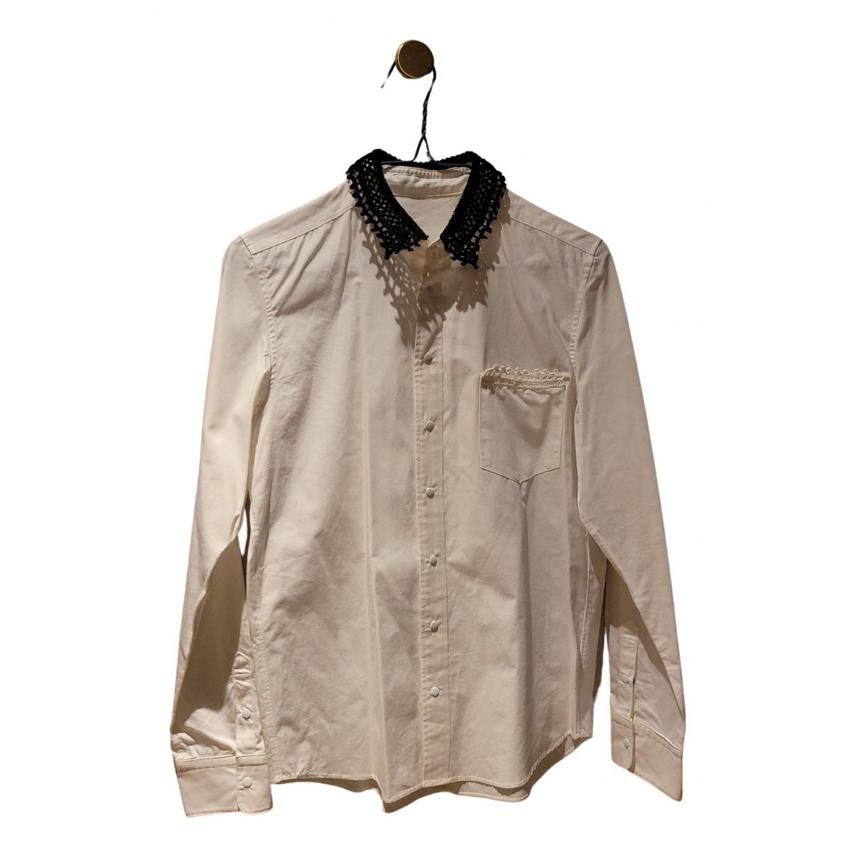 Toga Pulla - Top   pour femme en coton - blanc