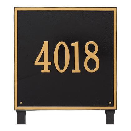 2119BG Personalized Square Plaque - Estate - Lawn - 1 line in