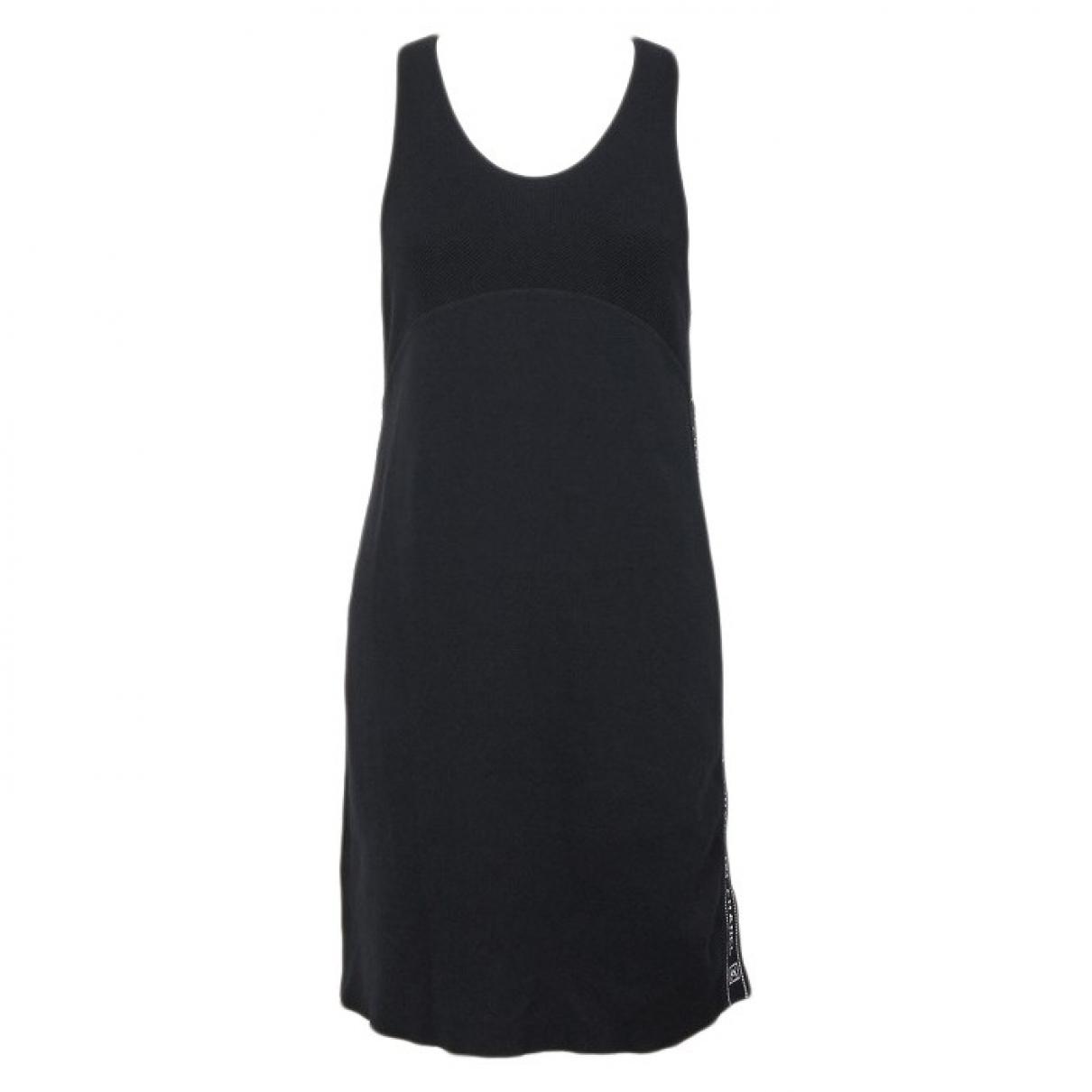 Chanel \N Black Cotton dress for Women 38 FR